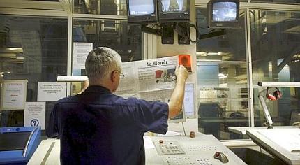 Presse, Imprimerie du journal quotidien Le Monde